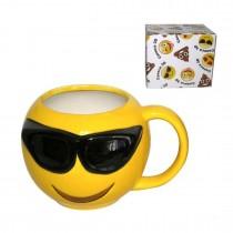 Caneca Emoji Oculos Escuros