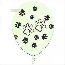 Balões latex patinhas 10 unids