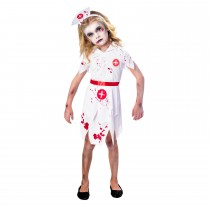 Disfarce enfermeira zombie...