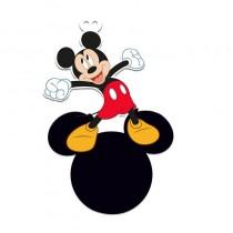 Grinalda Mickey com letras...