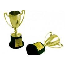 Deco Bolo troféu dourado