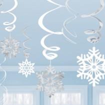 Swirls Flocos de Neve