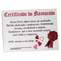Certificado Namorado