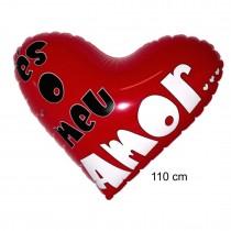 Coração Insuflavel 110cm AMOR