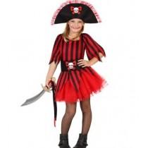 Disfarce Menina Pirata 10-12 anos