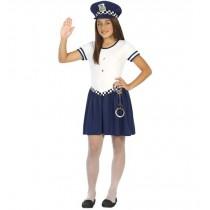 Disfarce Policia Menina 7-9...