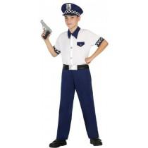 Disfarce Policia Menino 7-9...