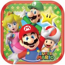 Pratos Super Mario 18cm