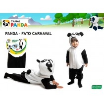 Disfarce Panda 12-18 meses...