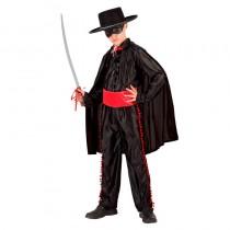 Disfarce Zorro 7-9 anos