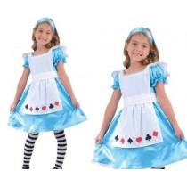 Disfarce Doce Alice 3-4 anos