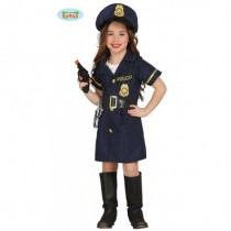 Disfarce Menina Policia 7-9...