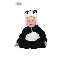 Disfarce Urso Panda 6-12 meses