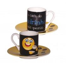 Set café emojis Padrinho
