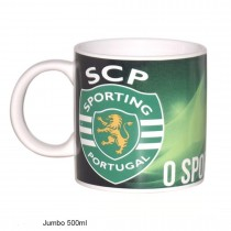 Caneca jumbo Sporting CP