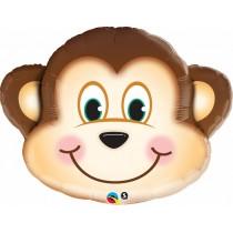 Balão Foil Cara Macaco