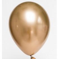 Balões latex dourado...