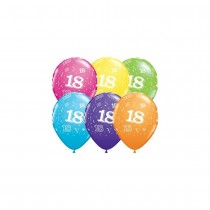 Balões Latex Numero 18