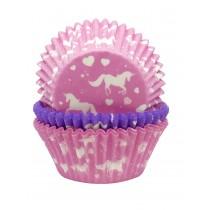 Forma para cupcake unicórnio