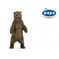 Deco Bolo Urso Pardo em pé...