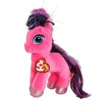 TY Peluche Ruby Pink Pony 15cm