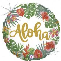 Balão Foil Tropical Aloha