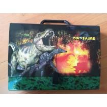 Pasta de cartão Dinossauros