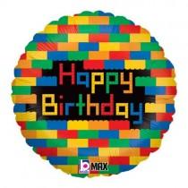 Balão Foil Blocks