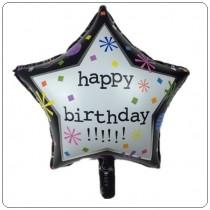 Balão Foil Estrela Happy...