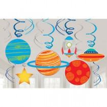 Swirls 12 unid. Planetas