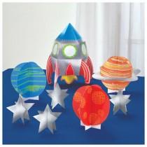 Kit Decoração Mesa Planetas