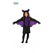 Disfarce morcego vestido...