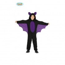 Disfarce Morcego 5-6 anos