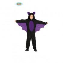 Disfarce Morcego 7-9 anos