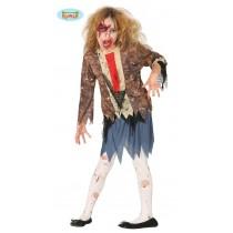 Disfarce Zombie Menina 5-6...