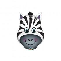 Balão Foil cara Zebra
