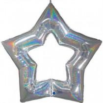 Balão Foil Estrela Linky...