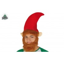 Gorro Duende Com Barba 41569