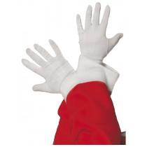 Luvas Brancas Pai Natal