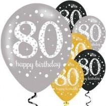 Balões Latex 80 anos...