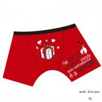 Boxer vermelho Prenda XL