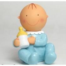 Deco bolo batizado bebé