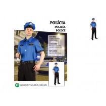 Disfarce Carnaval Polícia...