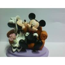 Decoração Bolo Noivos Disney