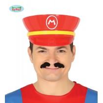 Boné Plastico Super Mario