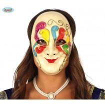 Máscara Veneziana Colorida...