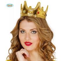 Coroa Rainha Ouro 16638