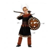 Disfarce Viking Atosa 5-6 anos