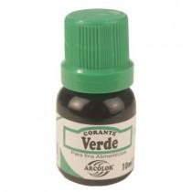 Corante Liquido Verde 10ml