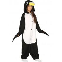 Disfarce Carnaval Pinguim Onesie 5-6 anos